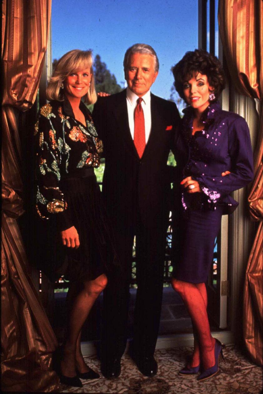Blake i dwie kobiety jego życia - Alexis i Krystle