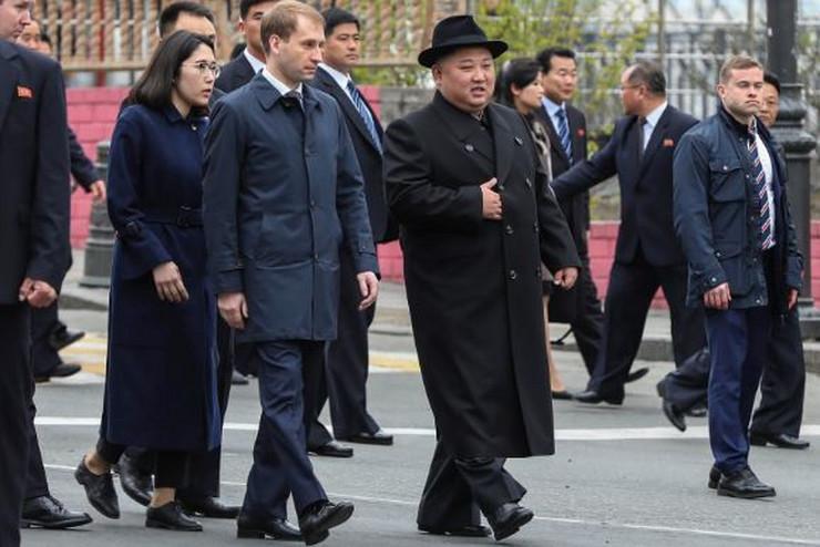 Kim Džong Un u Rusiji  ap