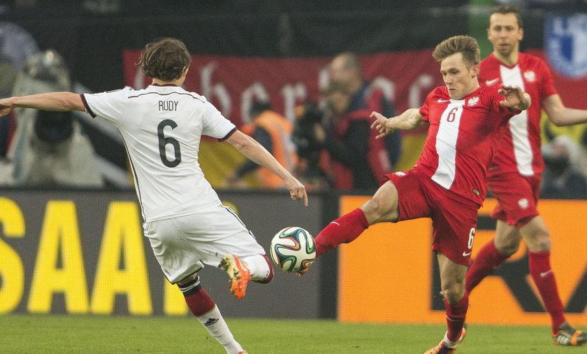 Maciej Rybus Niemcy Polska mecz towarzyski Hamburg
