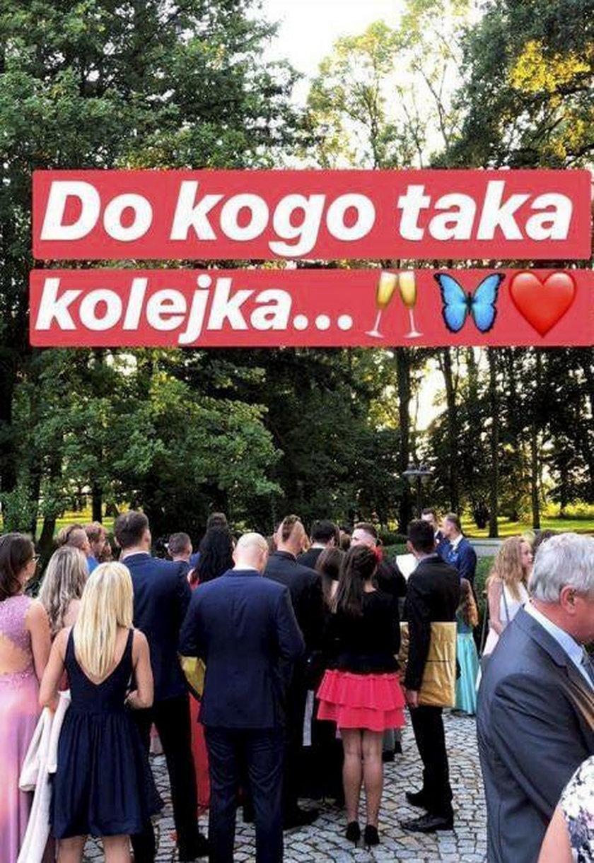 Ślub Rafała Maślaka