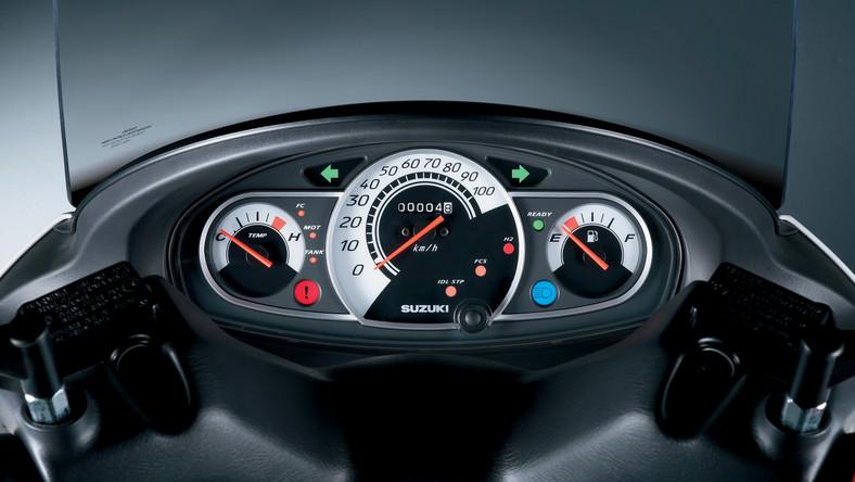 Skuter Suzuki Burgman Fuel-Cell jako pierwszy z homolagacją UE