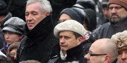 Palikot na pogrzebie Szymborskiej. Wygłup czy taka moda?