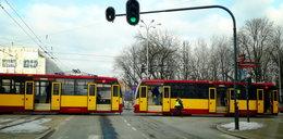 Zima w Łodzi. Mróz uwięził tramwaje