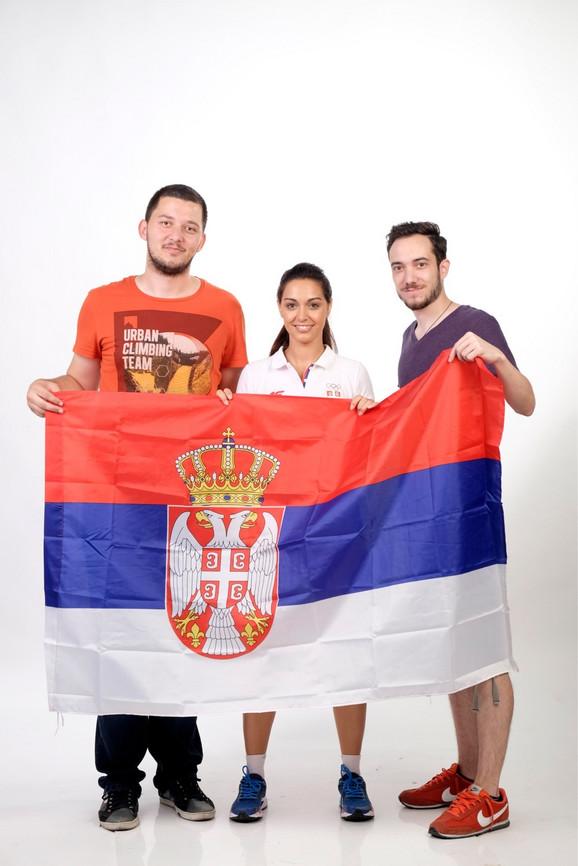 Ponosno u Riju: Ivana sa novinarima
