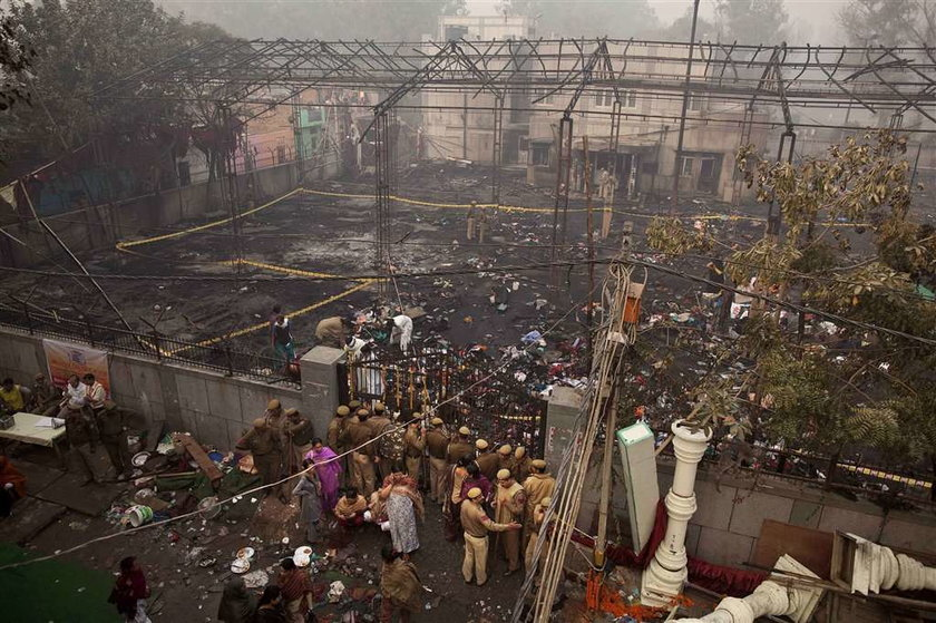 Tragiczny pożar na zjeździe eunuchów. 14 ofiar!