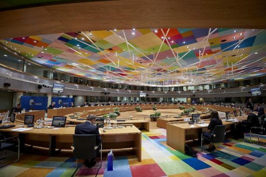 Posiedzenie Rady Europejskiej. Fot.: Rada Europejska