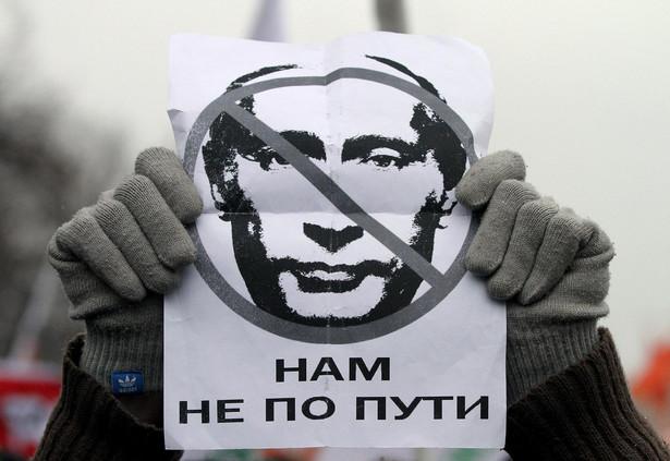 Protesty przeciwko fałszerstwom wyborczym w Rosji