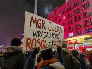 Strajk Kobiet w Warszawie. Zobacz zdjęcia z protestu 29 stycznia