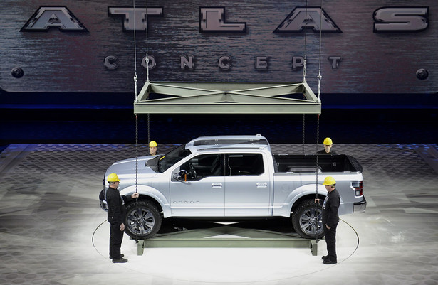 Ford F-150 Atlas concept