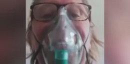 Była o krok od śmierci. W sieci umieszczono nagranie z jej przesłaniem do koronasceptyków