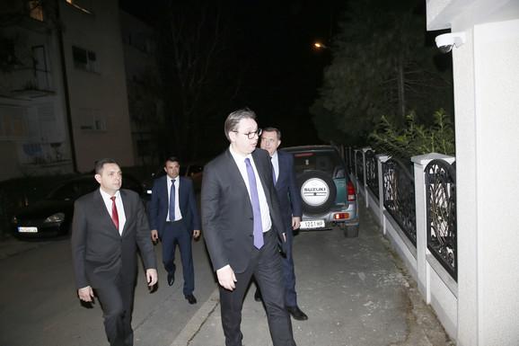 Političari stigli u dom porodice Šaulić