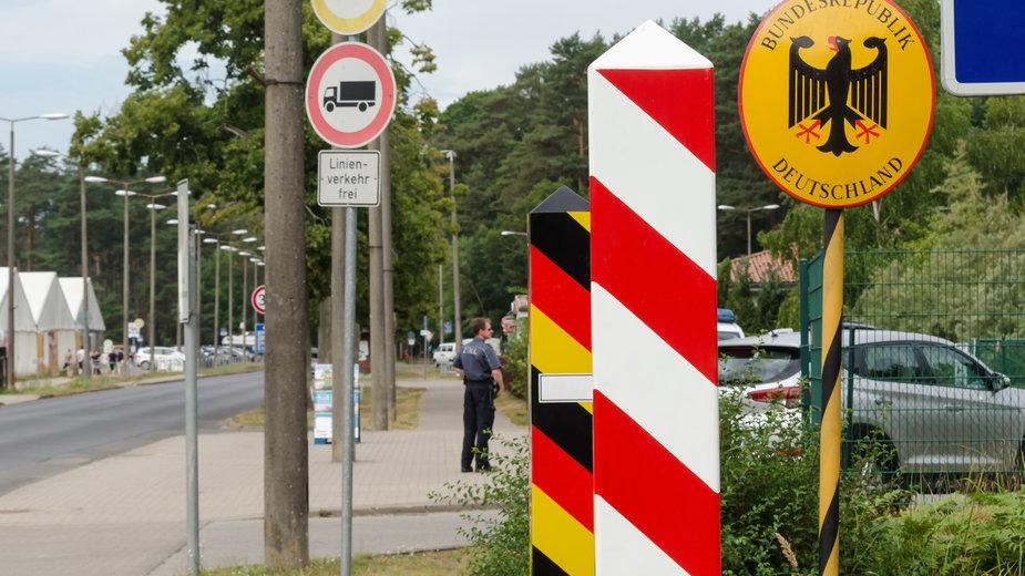 Polsko-niemieckie przejście graniczne w Świnoujściu