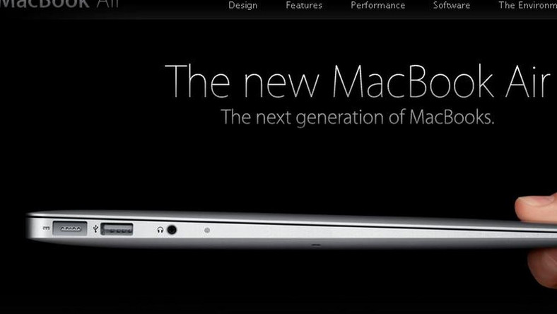 Oto nowy, cieniutki MacBook