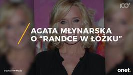 "Agata Młynarska broni programu ""Randka w łóżku"""