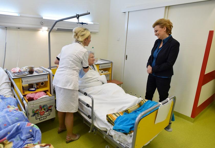 Zakończył się remont oddziału geriatrii w szpitalu im. Jonschera na ulicy Przyrodniczej