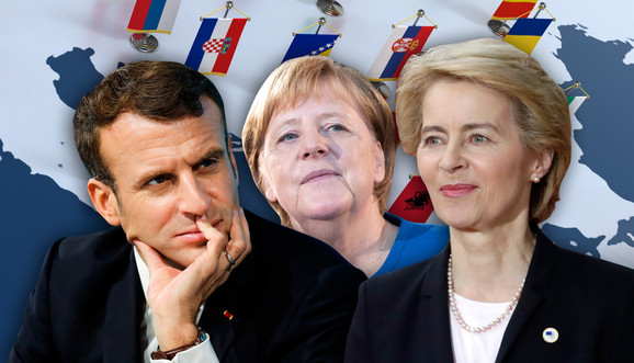 Nemice Merkel i Fon der Lajen su jaka opozicija Makronu