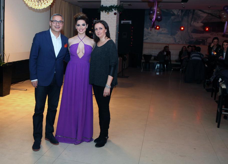 Sara Jo sa roditeljima