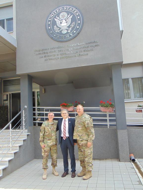 Dr Milić sa predstavnicima američke vojske