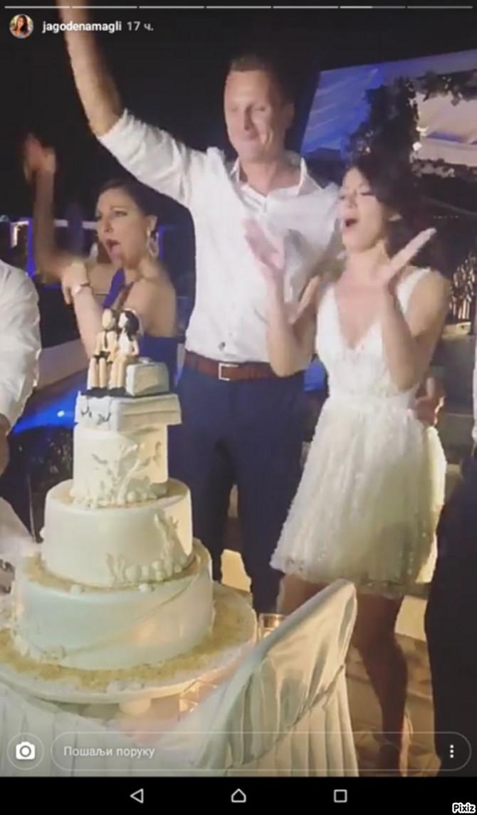 Anka i Nestor na venčanju