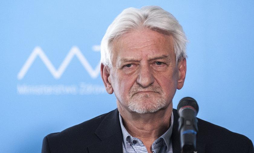 Prof. Andrzej Horban, doradca premiera ds. COVID-19