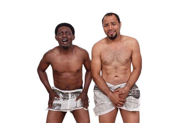 AY Makun and Ramsey Nouah in '30 Days in Atlanta'