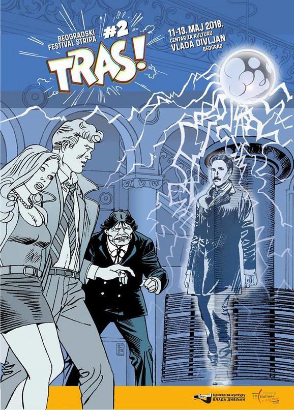 Tras!, drugi festival stripa u Beogradu