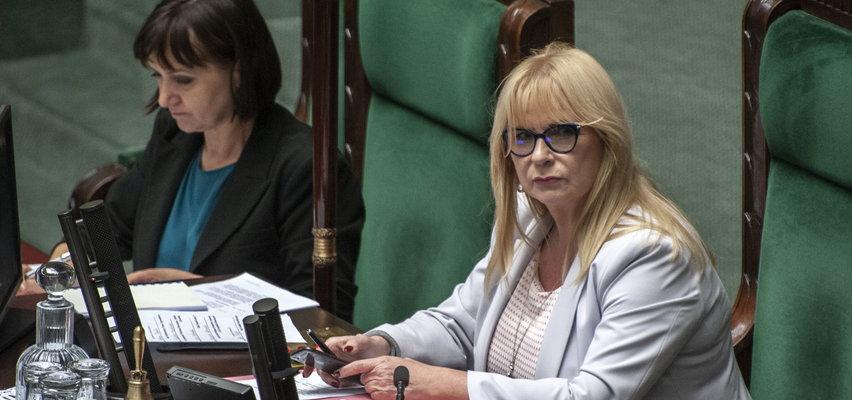 """Kłótnia w Sejmie. Gosiewska oburzona """"rechotami i krzykami"""""""