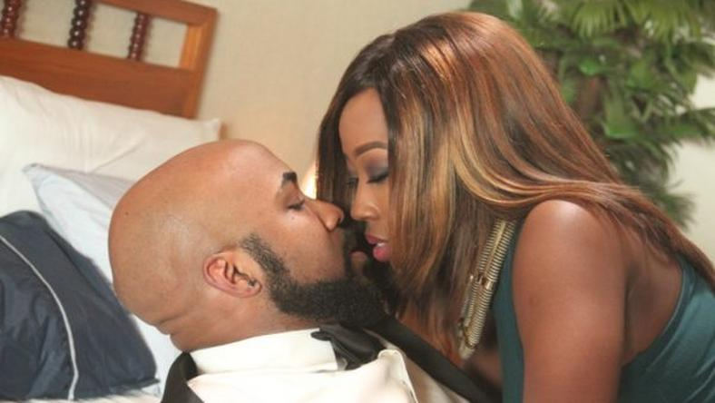 "Banky W and Beverly Naya in ""The Wedding Party"""