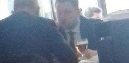 Piwo przed debatą w Sejmie? Szef klubu PO nie widzi w tym nic złego