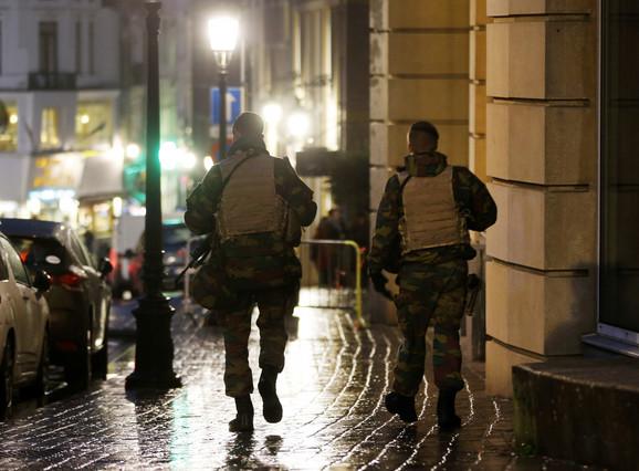 Hapšenje u Briselu