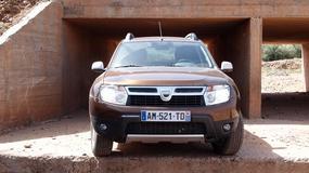 Dacia Duster do serwisu