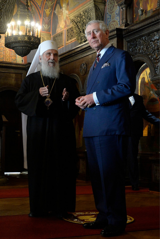 Patrijarh Irinej i princ Čarls