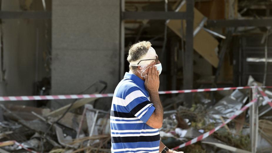 Eksplozja w Bejrucie. Zginęło co najmniej 100 osób, a prawie 4 tys. zostało rannych