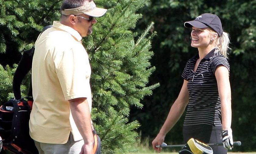 Głogowska dla Gąsa uczy się grać w golfa