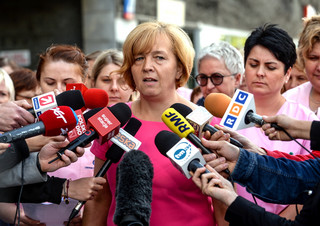 'Jeżeli minister Radziwiłł uważa, że pielęgniarki są chciwe, to politycy są prawdomówni' [WIDEO]