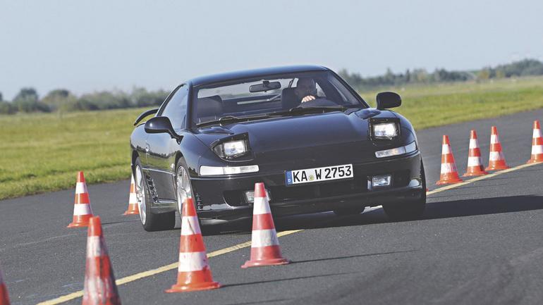 Mitsubishi 3000GT - siła turbo