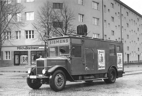 Simens vozilo za nacističku propagandu