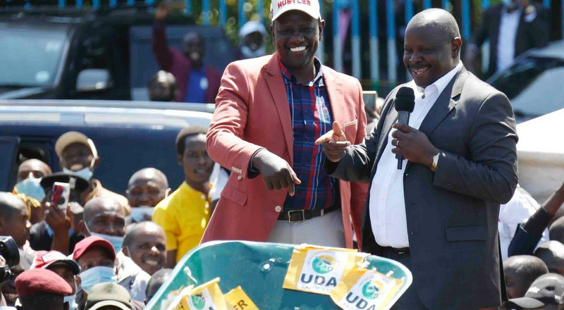 "ODM MP decamps to DP Ruto's ""wheelbarrow"" movement"