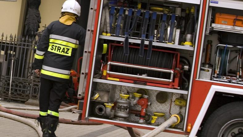 Strażacy ogłoszą upadłość