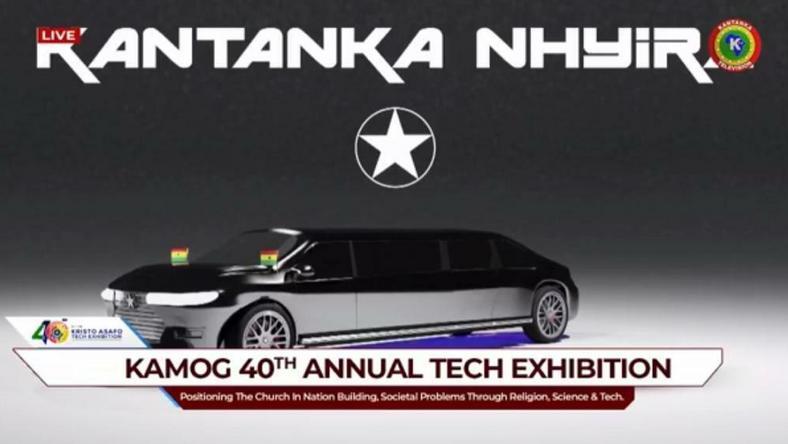 Kantanka outdoors bulletproof car for Ghana's President