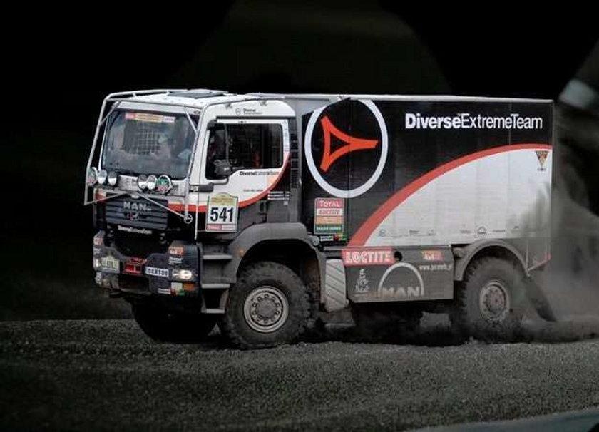 Pakuje przed Dakarem