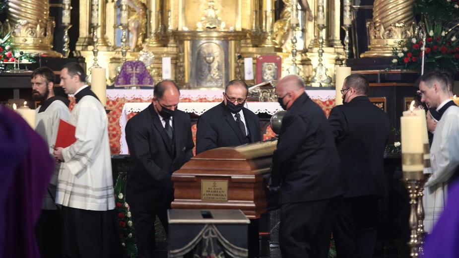 Uroczystości pogrzebowe kard. Mariana Jaworskiego