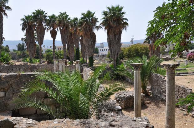 Ruiny Agory w centrum miasta Kos