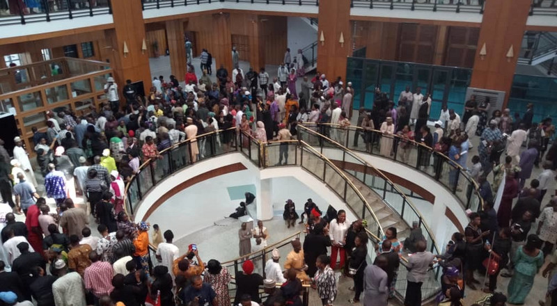 Will NASS workers' protest stop Buhari's 2019 budget presentation?