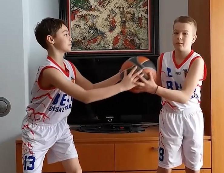 Mladi košarkaši KK Beko