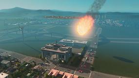 Cities: Skylines - przyjrzyjcie się naturalnym katastrofom z bliska