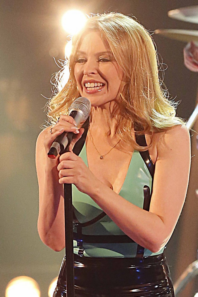 "Kylie Minogue w ""The Voice of Italy"""