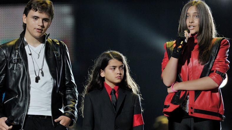 Dzieci Michaela: Prince, Blanket i Paris