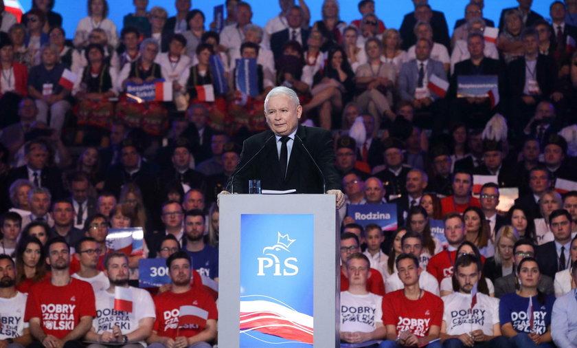 Jarosław Kaczyński obiecał seniorom 13-tą i 14-tą emeryturę