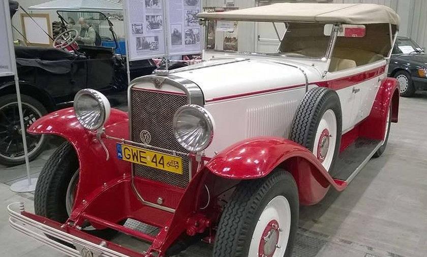 Pokaz starych aut w Gdańsku